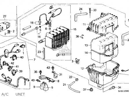 honda civic wagon 1991 wgn dx (ka,kl) parts list ... 1991 honda civic wagon wiring diagram