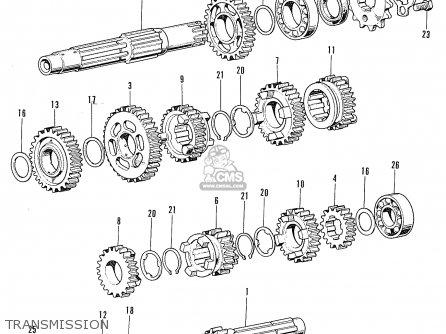 honda cl100s scrambler 1972 k2 usa parts list partsmanual partsfiche