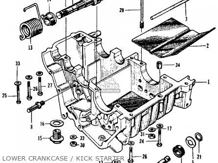honda cl125a scrambler 1967 usa parts list partsmanual. Black Bedroom Furniture Sets. Home Design Ideas