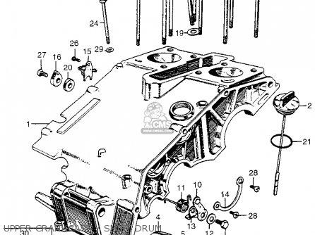 honda cl175 scrambler 175 k0 1968 usa parts list