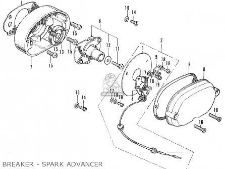 Honda Cl175 Scrambler 1973 K7 Usa Parts Lists And Schematics