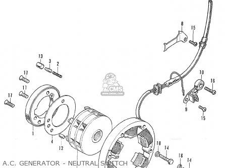 Honda Cl175 Scrambler K6 Australia A C Generator