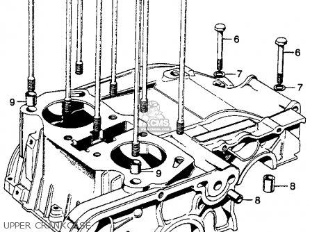 Honda Mt250 Elsinore K1 Usa Left Crankcase Cover Alternator Oil Pump together with Honda Ca175 Wiring Diagram also Suzuki Gs750 Wiring Harness moreover Wiring Diagram Honda Cb550 Cafe Racer furthermore Kz Valve Wiring Diagram. on honda mt250 wiring diagram