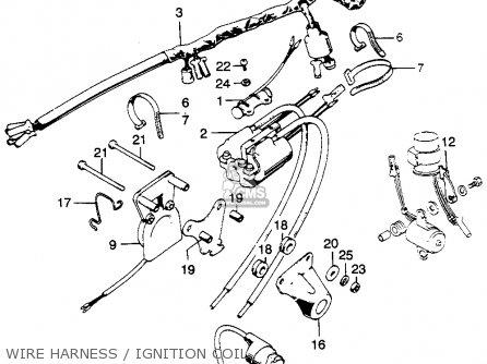 Honda CL350 SCRAMBLER 1968 K0 USA parts lists and schematics
