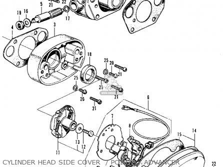 Honda CL350 SCRAMBLER 1970 K2 USA parts lists and schematicsCmsnl.com