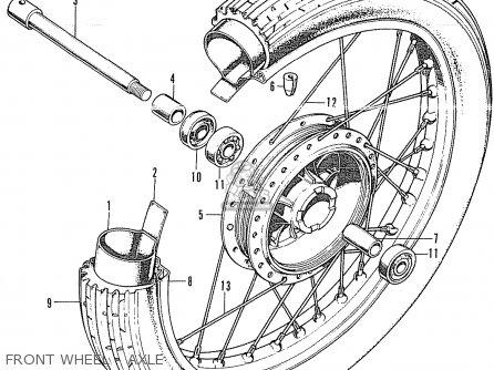 Honda Cl350 Scrambler 1972 K4 Usa Parts Lists And Schematics