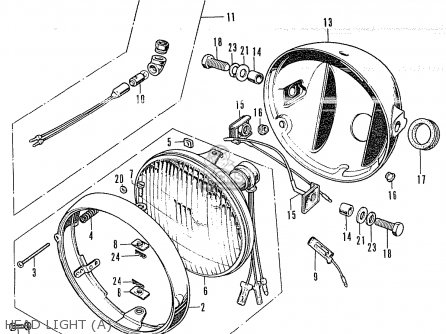 Wiringdiagrams cycleterminal likewise Honda Z50a Mini Trail K2 Usa Parts Lists as well Honda Cb 350 Parts Diagram likewise Wiring Diagram Honda Cl70 as well 1968 Honda Ct90 Wiring Diagram. on honda cl350 wiring diagram