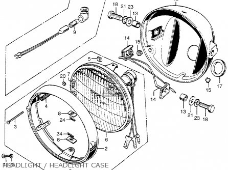 Honda Civic Hatchback Fan Radiator Parts Diagram 02 03 besides Partslist further 1995 Chevrolet Tahoe Blazer Electrical Wiring Diagram likewise 1994 Volvo 960 Fuse Relay And Circuit Breakers together with Honda B18c Wiring Diagram. on motorcycle headlight wiring harness
