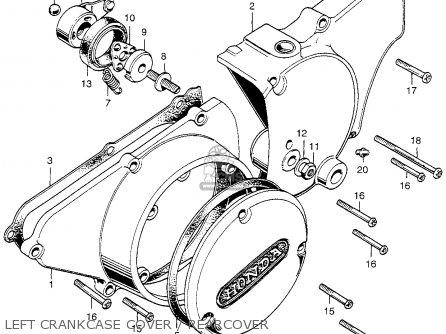 Honda Cl350 Scrambler 350 K5 1973 Usa Cylinder Head Spark Plug
