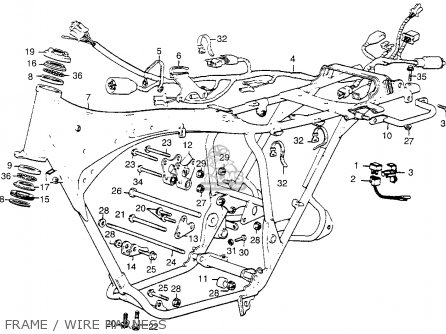 wiring diagram for 1968 honda cl350  honda  auto wiring