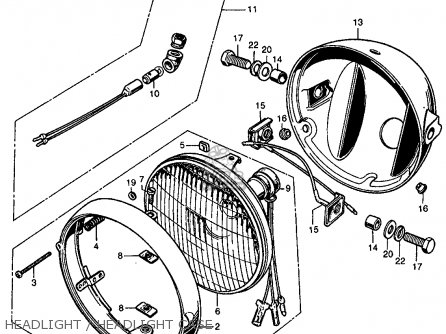 Wiring Diagram For 1968 Honda Cl350 on honda cx500 parts