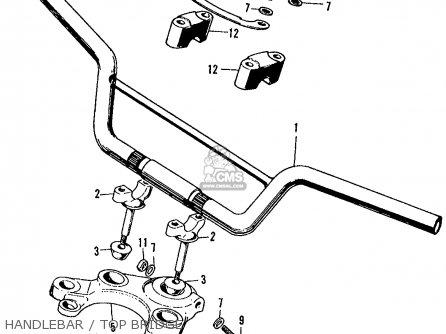 Engine Honda Cl450