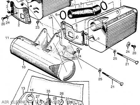 Honda Cl72 Scrambler 1962 Usa   250 Air Cleaner   Tool Case    Tools