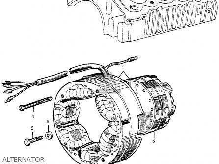 Honda Cl72 Scrambler 1962 Usa   250 Alternator