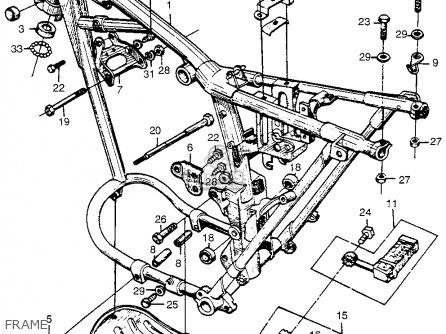 Honda Cl72 Scrambler 1962 Usa   250 Frame
