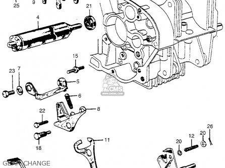 honda cl72 scrambler 1962 usa 250 parts lists and schematics rh cmsnl com