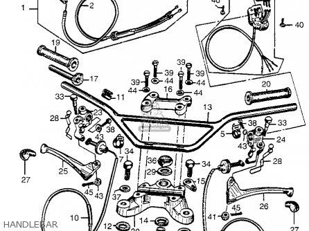 Honda Cl72 Diagram