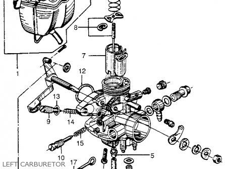 Honda Cl72 Scrambler 1962 Usa   250 Left Carburetor