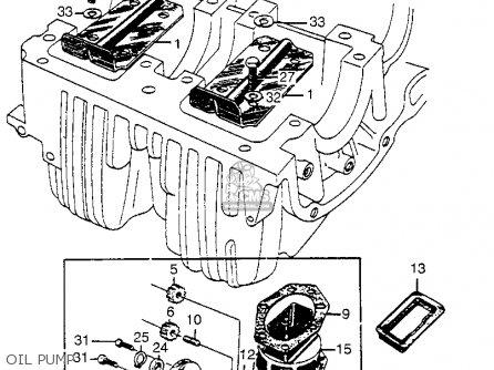 Honda Cl72 Scrambler 1962 Usa   250 Oil Pump