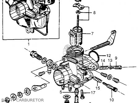 Honda Cl72 Scrambler 1962 Usa   250 Right Carburetor