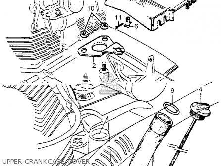 Honda Cl72 Scrambler 1962 Usa   250 Upper Crankcase Cover