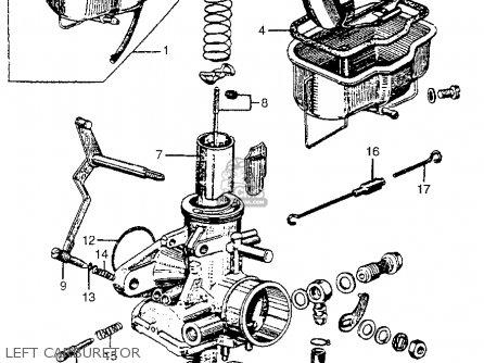 honda cl77 scrambler 1965 usa 305 parts lists and schematics 1966 honda 305 scrambler 305 scrambler wiring diagram #16