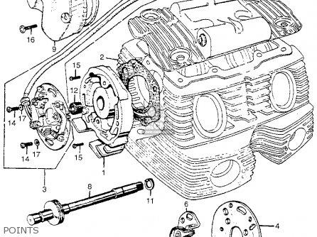 honda cl77 scrambler 305 1965 usa parts list partsmanual 1967 305 Scrambler Honda Dream 305