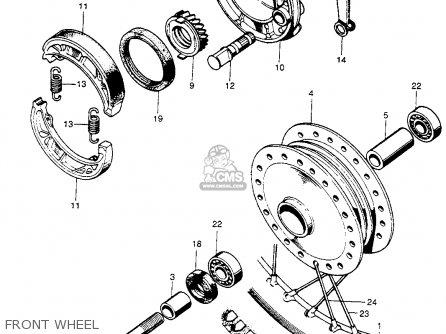 honda cl90 scrambler 1967 usa parts lists and schematics 1984 Cup 100Cc Motorcycle Honda honda cl90 scrambler 1967 usa front wheel