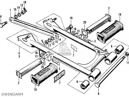 honda cl90 scrambler 1967 usa parts lists and schematics. Black Bedroom Furniture Sets. Home Design Ideas