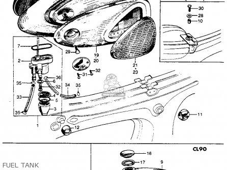 Partslist furthermore Partslist in addition Honda S65 Clutch Diagram additionally Partslist furthermore 7 Segment Led Diagram. on honda cl90 parts