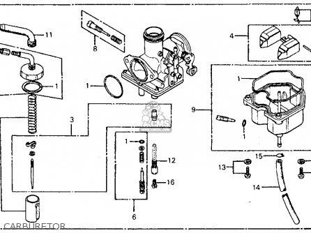 Honda Cm185t Twinstar 1978 Usa Carburetor