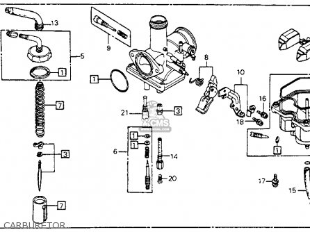 honda cm200t twinstar 1981  b  usa parts list partsmanual partsfiche BRST Style 1981 Honda CM200T 1981 Honda CM200T Parts