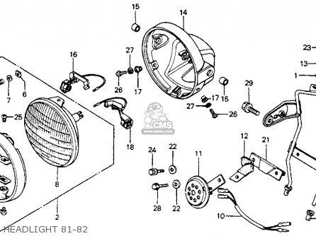 honda cm200t twinstar 1981  b  usa parts list partsmanual partsfiche 1981 Honda CM200T Review BRST Style 1981 Honda CM200T