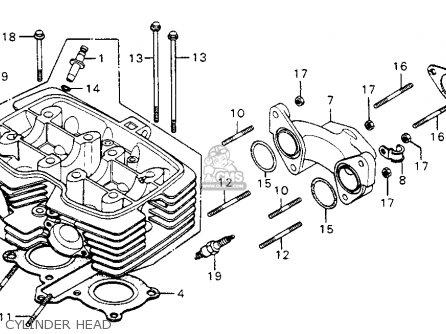 honda cm200t twinstar 1982 (c) usa parts lists and schematicsHonda Motorcycle Parts 1982 Cm200t A Camshaft Valve Diagram #5