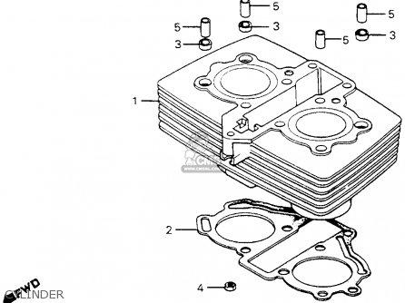 honda cm200t twinstar 1982 (c) usa parts lists and schematicshonda cm200t twinstar 1982 (c) usa cylinder cylinder