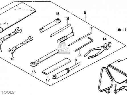 Honda Cm250c Custom 1982 C Usa Parts Lists And Schematics