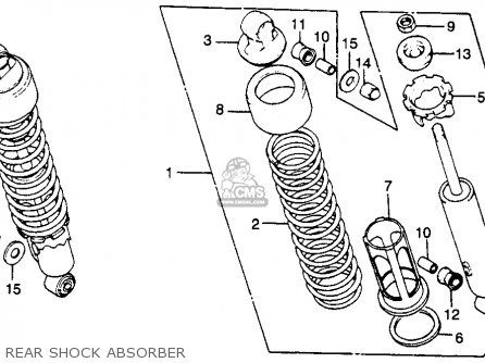 Harley Sportster Transmission Exploded View on 1983 honda 250 custom