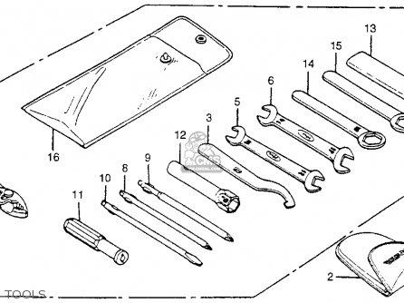 honda cm400a hondamatic 1980  a  usa parts list