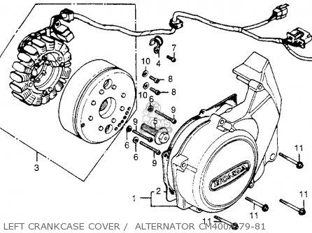 honda cm400c custom 1979  z  usa parts list partsmanual partsfiche Honda CM400A Hondamatic Logo 1979 Honda CB750K