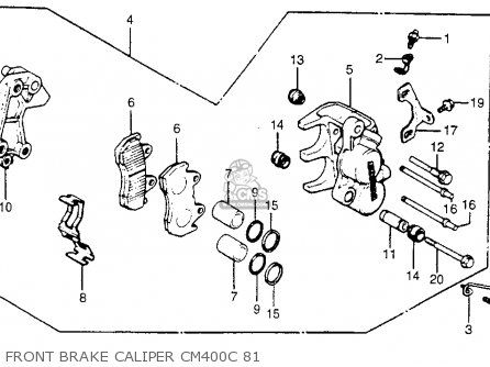 honda cm400c custom 1980 a 1981 b usa parts lists and schematics. Black Bedroom Furniture Sets. Home Design Ideas