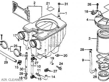 honda cm400e 1981 b usa parts lists and schematics. Black Bedroom Furniture Sets. Home Design Ideas