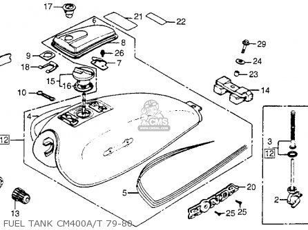 honda cm400t 1979 z usa parts list partsmanual partsfiche. Black Bedroom Furniture Sets. Home Design Ideas