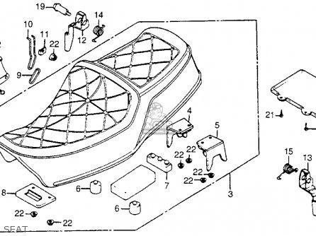 honda cm400t 1979  z  usa parts list partsmanual partsfiche 1981 Honda CM400A Hondamatic 1980 Honda CM400A Specs
