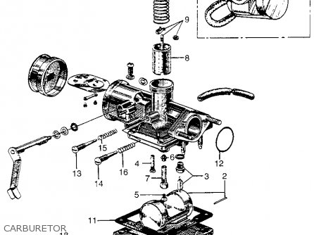 Honda Cm91 1966 Usa Carburetor