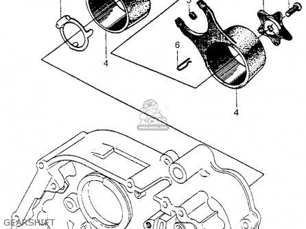 Honda Cm91 1966 Usa Gearshift