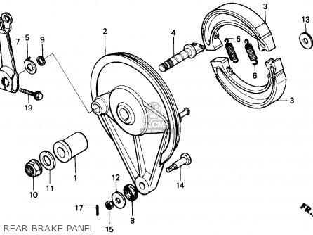 Honda Cmx250c Rebel 1985 F Usa California Parts Lists And Schematics