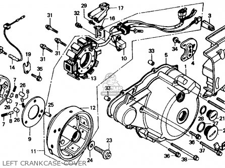 Bearingsseals also Partslist likewise Lifan Mini Bike in addition On A 1986 Honda Cmx450 Wiring Diagram moreover Wiring Diagram Also Honda Recon 250 Moreover. on honda rebel 250 wiring diagram