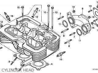 Honda Cmx C Rebel T Canada Cylinder Head Mediumecent E Dc