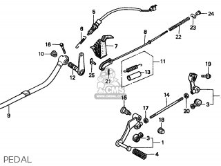 89 Honda Quad Wiring Diagram in addition Holder Needle Jet 16165kr3671 moreover 1986 Alfa Romeo Spider Wiring Diagram besides Honda Cm200t Motorcycle Wiring Diagrams furthermore Vacuum Diagram 1989 Ford F250 5 8. on honda rebel 250 parts