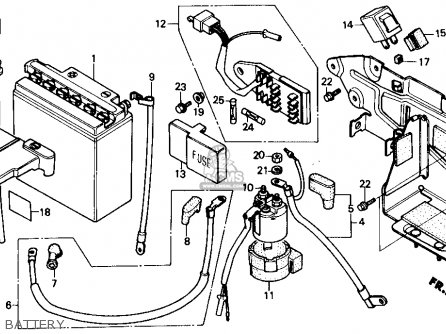 Honda Cmx250cd Rebel 250 Ltd 1986 Usa Carburetor Schematic